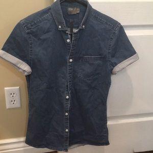 NWT ASOS denim shirt